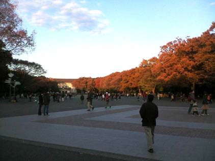automne a Ueno