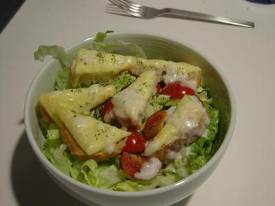 c'tte bonne petite salade juste pour moi